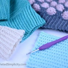 How to Add a Stretchy, Knit-Look Ribbed Band or Cuff to your Crochet Projects