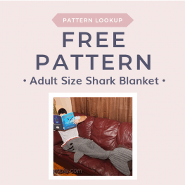 Pattern Lookup Adult Shark Blanket Free Pattern Free Crochet Tutorials 2