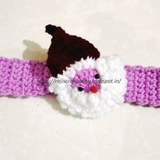Santa Headband Pattern and Tutorial