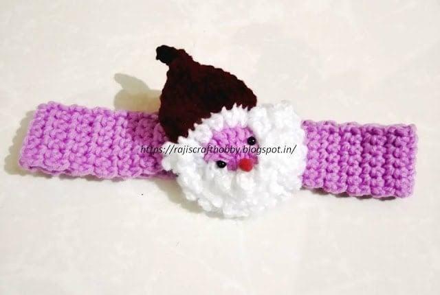Santa Headband Pattern and Tutorial