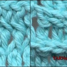 Front Post Double Crochet and Back Post Double Crochet Video Tutorial