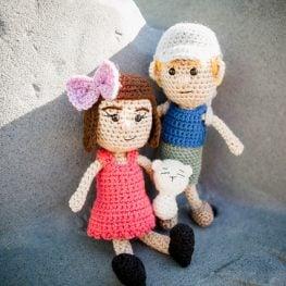 Amigurumi Dolls by Jackie Laing