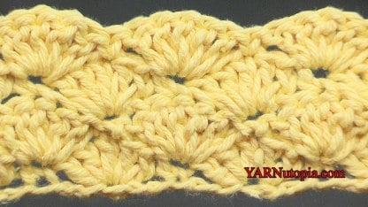 Shell Stitch Crochet Video Tutorial