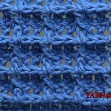 Waffle Stitch Video Tutorial