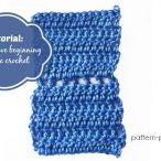 How to crochet the alternative beginning double crochet