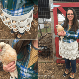 Crochet Egg Apron Pattern Adult