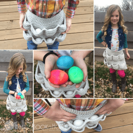 Crochet Egg Apron Pattern Child