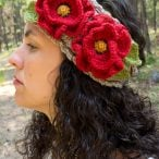 A Beautiful Poppy Headband Photo Tutorial
