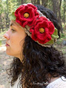 A Beautiful Poppy Headband Photo Tutorial