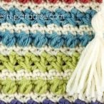 How to Crochet the Crossed DC Stitch Tutorial