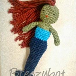 Mermaid Amigurumi by Brieshon D'Agostini
