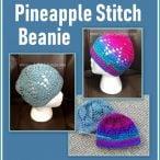 Pineapple Stitch Beanie Pattern Tutorial