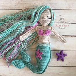 Ragdoll Mermaid by Spin a Yarn Crochet