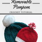 How to Attach a Removable Pompom