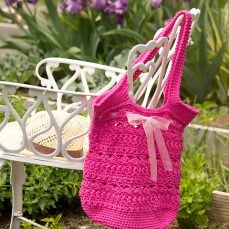 Secret Garden Tote and Market Bag Photo Tutorial