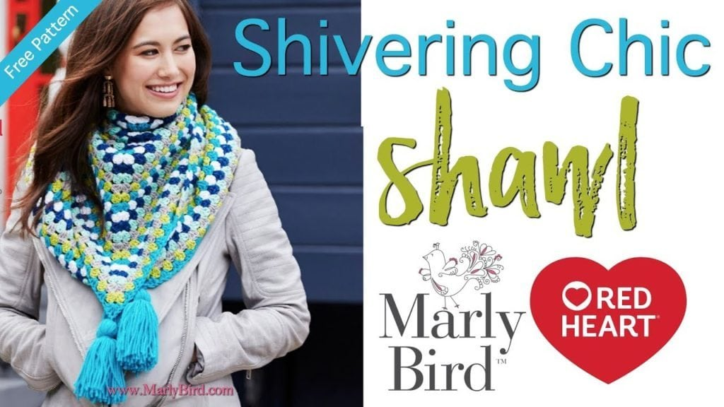 How to Crochet the Shivering Chic Shawl