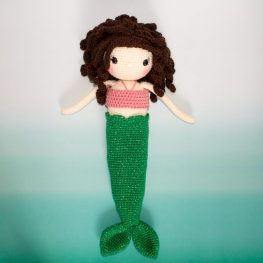 Sophie the Mermaid by the Friendly Red Fox
