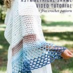 Asymmetrical Shawl Video Tutorial