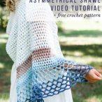 Asymmetrical Shawl Video Tutorial