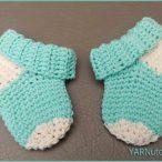 Simple Baby Socks Video Tutorial
