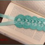 Crochet Bookmark with Ribbon Video Tutorial