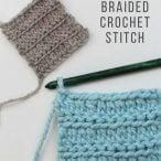 Braided Crochet Stitch Video Tutorial