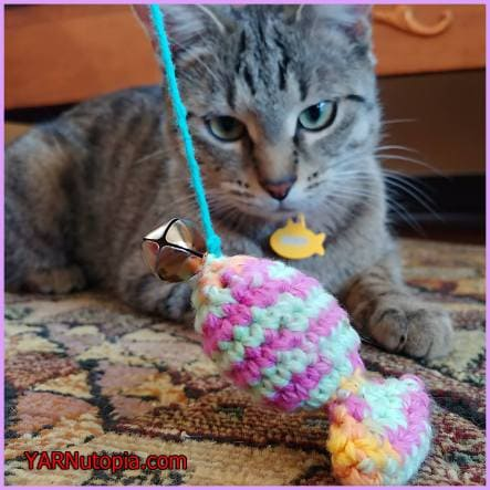 Catnip Sardine Toy Video Tutorial