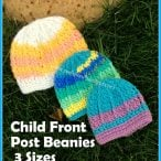 Children's Front Post Beanie Tutorial