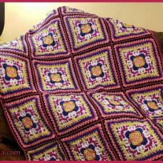 Colorful Visions Afghan Video Tutorial
