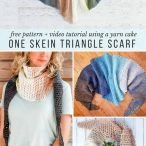 Crochet Triangle Scarf Video Tutorial