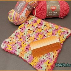 Dual Sided Washcloth Video Tutorial