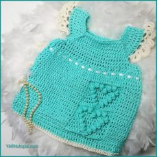 Happy Hearts Baby Dress Video Tutorial