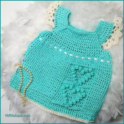 Happy Hearts Baby Dress Video Tutorial