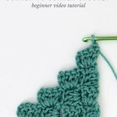 Corner to Corner Crochet Video Tutorial
