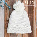 Knit Stitch or Waistcoat Stitch Video Tutorial