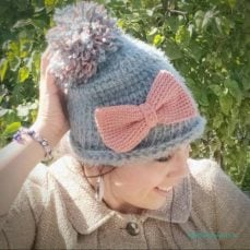 Soft Hygge Beanie Hat Video Tutorial