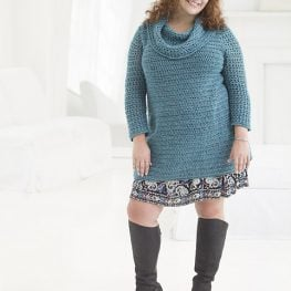 Curvy Girl Crochet Tunic by Teresa Chorzepa