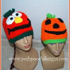 Silly Pumpkin Hat Pattern Tutorial