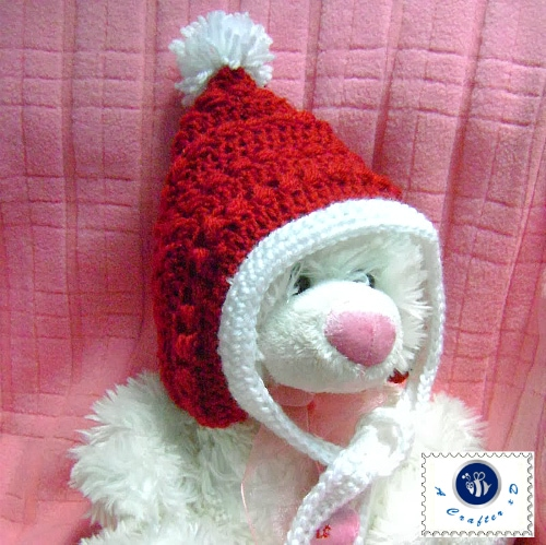 Crochet Christmas Baby Pixie Hat Pattern Maz Kwok