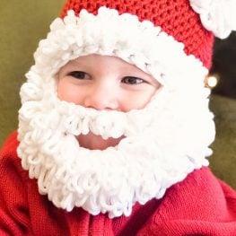 Bearded Santa Hat by Ashlee Prisbrey