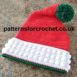 Santa Hat by Patternsfor Designs