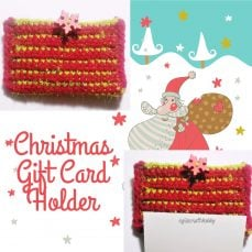 Christmas Gift Card Holder Tutorial