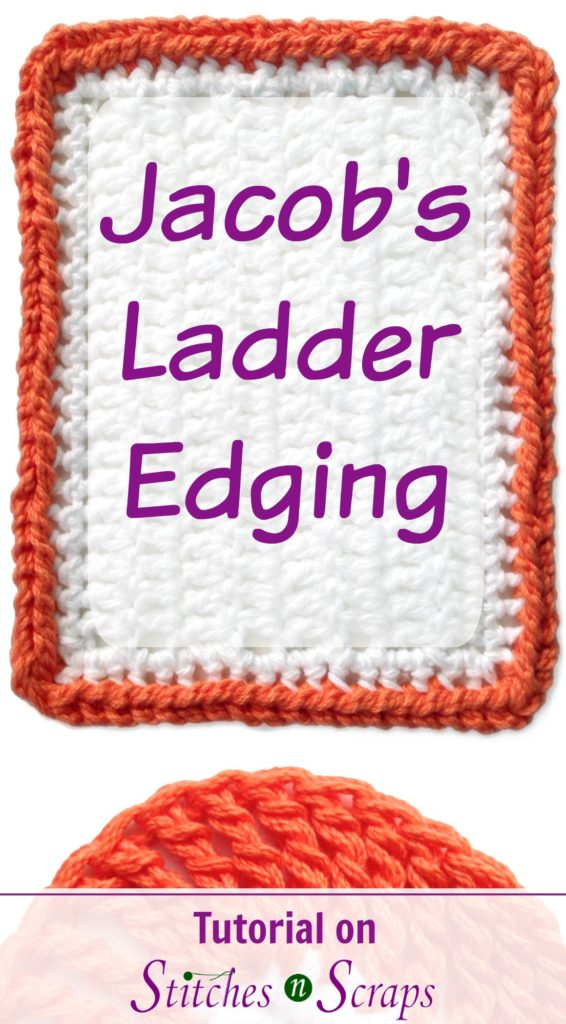 Jacob's Ladder Edging Stitch Tutorial