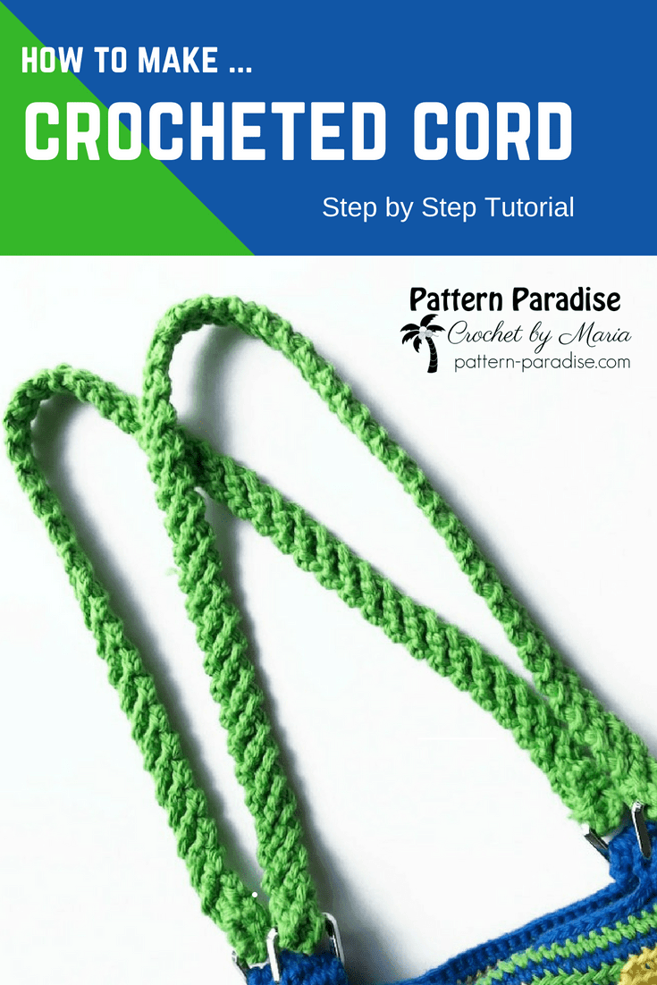 Crocheted Cord Tutorial