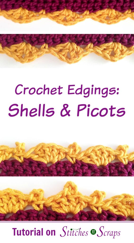 Shells and Picots Edging Tutorial