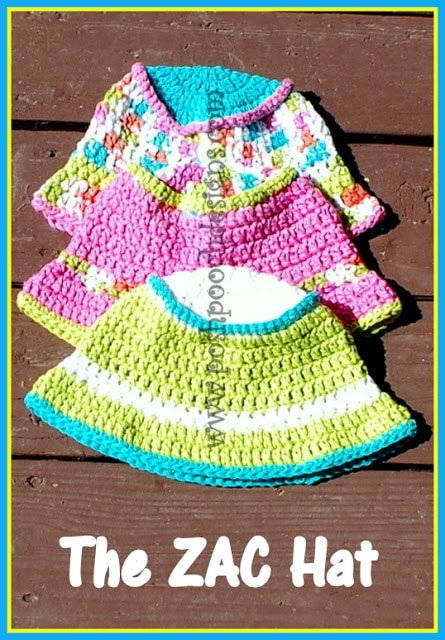 How to Crochet the Children's Summer Bucket Hat