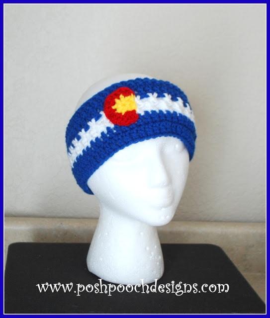 Colorful Colorado Headband Video Tutorial