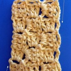 Diagonal Box Stitch Tutorial