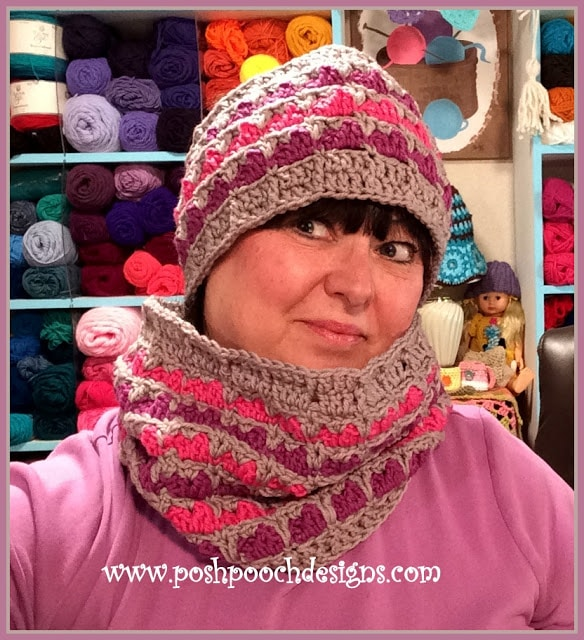 Lisa Ann Cowl and Ear Warmer Video Tutorial