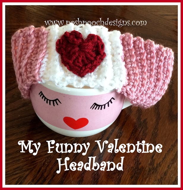 My Funny Valentine Headband Video Tutorial